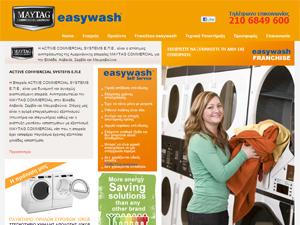 Easywash - Επαγγελματικά Πλυντήρια, Στεγνωτήρια, Σιδερωτικ