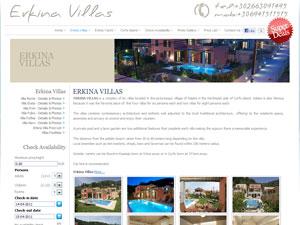 Erkina Villas Corfu